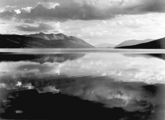 Ansel adams mcdonald lake